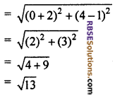 RBSE Solutions for Class 10 Maths Chapter 9 Co-ordinate Geometry Miscellaneous Exercise 25