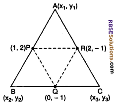 RBSE Solutions for Class 10 Maths Chapter 9 Co-ordinate Geometry Miscellaneous Exercise 29