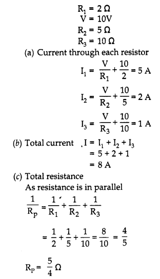 RBSE Solutions for Class 10 Science Chapter 10 Electricity Current image - 32.