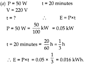 RBSE Solutions for Class 10 Science Chapter 10 Electricity Current image - 57