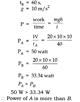 RBSE Solutions for Class 10 Science Chapter 11 Work, Energy and Power image - 25