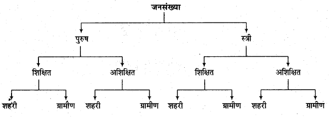 RBSE Solutions for Class 11 Economics Chapter 6 आँकड़ों का वर्गीकरण 6