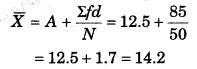 RBSE Solutions for Class 11 Economics Chapter 8 समान्तर माध्य 29