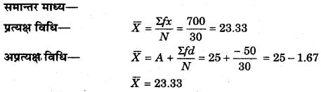 RBSE Solutions for Class 11 Economics Chapter 8 समान्तर माध्य 41