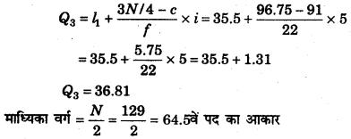 RBSE Solutions for Class 11 Economics Chapter 9 माध्यिका 14