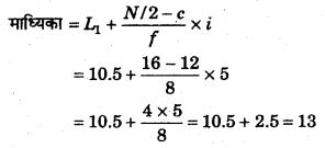 RBSE Solutions for Class 11 Economics Chapter 9 माध्यिका 39