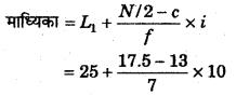 RBSE Solutions for Class 11 Economics Chapter 9 माध्यिका 43