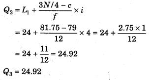 RBSE Solutions for Class 11 Economics Chapter 9 माध्यिका 76
