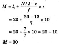 RBSE Solutions for Class 11 Economics Chapter 9 माध्यिका 8