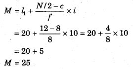 RBSE Solutions for Class 11 Economics Chapter 9 माध्यिका 84