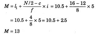 RBSE Solutions for Class 11 Economics Chapter 9 माध्यिका 92