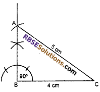 RBSE Solutions for Class 7 Maths Chapter 10 Construction of Triangles In Text Exercise - 10