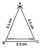 RBSE Solutions for Class 7 Maths Chapter 10 Construction of Triangles In Text Exercise - 2