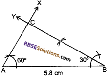 RBSE Solutions for Class 7 Maths Chapter 10 Construction of Triangles In Text Exercise - 7