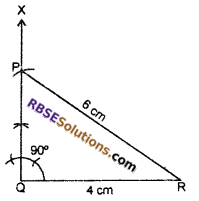 RBSE Solutions for Class 7 Maths Chapter 10 Construction of Triangles In Text Exercise - 9