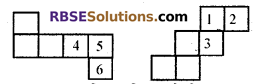 RBSE Solutions for Class 7 Maths Chapter 12 Visualizing Solid Shapes Additional Questions - 10