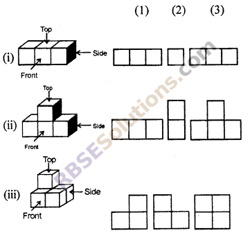 RBSE Solutions for Class 7 Maths Chapter 12 Visualizing Solid Shapes Additional Questions - 13