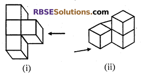 RBSE Solutions for Class 7 Maths Chapter 12 Visualizing Solid Shapes Additional Questions - 15