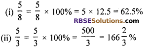 RBSE Solutions for Class 7 Maths Chapter 15 Comparison of Quantities In Text Exercise - 6
