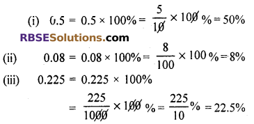 RBSE Solutions for Class 7 Maths Chapter 15 Comparison of Quantities In Text Exercise - 7