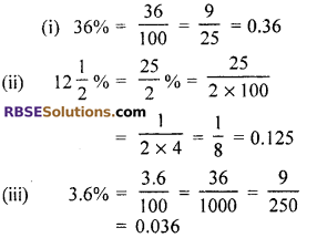RBSE Solutions for Class 7 Maths Chapter 15 Comparison of Quantities In Text Exercise - 9