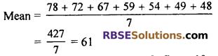 RBSE Solutions for Class 7 Maths Chapter 17 Data Handling Ex 17.2 - 1