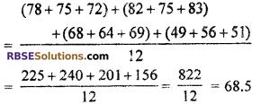 RBSE Solutions for Class 7 Maths Chapter 17 Data Handling Ex 17.2 - 13