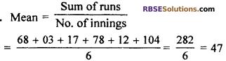 RBSE Solutions for Class 7 Maths Chapter 17 Data Handling Ex 17.2 - 3