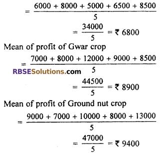 RBSE Solutions for Class 7 Maths Chapter 17 Data Handling Ex 17.2 - 6
