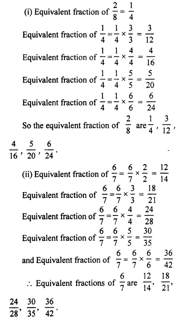 RBSE Solutions for Class 7 Maths Chapter 2 Fractions and Decimal Numbers Ex 2.1 Q1a