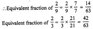RBSE Solutions for Class 7 Maths Chapter 2 Fractions and Decimal Numbers Ex 2.1 Q3b