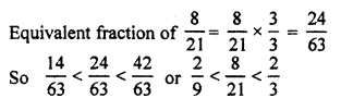RBSE Solutions for Class 7 Maths Chapter 2 Fractions and Decimal Numbers Ex 2.1 Q3c