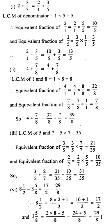 RBSE Solutions for Class 7 Maths Chapter 2 Fractions and Decimal Numbers Ex 2.1 Q4a