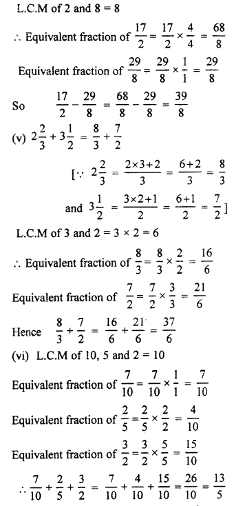 RBSE Solutions for Class 7 Maths Chapter 2 Fractions and Decimal Numbers Ex 2.1 Q4b