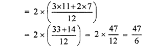 RBSE Solutions for Class 7 Maths Chapter 2 Fractions and Decimal Numbers Ex 2.1 Q5a