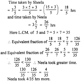 RBSE Solutions for Class 7 Maths Chapter 2 Fractions and Decimal Numbers Ex 2.1 Q6