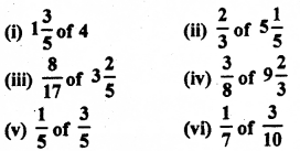RBSE Solutions for Class 7 Maths Chapter 2 Fractions and Decimal Numbers Ex 2.2 q6