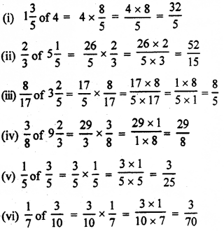 RBSE Solutions for Class 7 Maths Chapter 2 Fractions and Decimal Numbers Ex 2.2 q6a