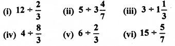 RBSE Solutions for Class 7 Maths Chapter 2 Fractions and Decimal Numbers Ex 2.3 Q1