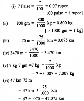RBSE Solutions for Class 7 Maths Chapter 2 Fractions and Decimal Numbers Ex 2.4 Q2