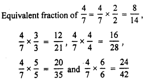 RBSE Solutions for Class 7 Maths Chapter 2 Fractions and Decimal Numbers In Text Exercise K1