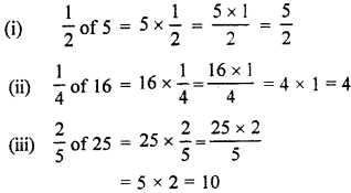 RBSE Solutions for Class 7 Maths Chapter 2 Fractions and Decimal Numbers In Text Exercise K5a