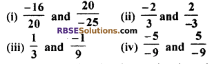 RBSE Solutions for Class 7 Maths Chapter 4 Rational Numbers Additional Questions 14