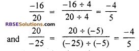 RBSE Solutions for Class 7 Maths Chapter 4 Rational Numbers Additional Questions 15