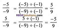 RBSE Solutions for Class 7 Maths Chapter 4 Rational Numbers Additional Questions 18