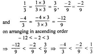 RBSE Solutions for Class 7 Maths Chapter 4 Rational Numbers Additional Questions L3c