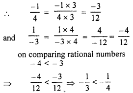 RBSE Solutions for Class 7 Maths Chapter 4 Rational Numbers Ex 4.1 6