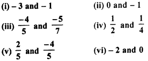 RBSE Solutions for Class 7 Maths Chapter 4 Rational Numbers Ex 4.1 7