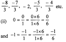RBSE Solutions for Class 7 Maths Chapter 4 Rational Numbers Ex 4.1 7c