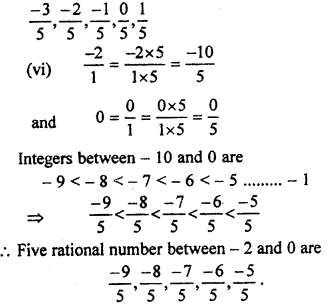 RBSE Solutions for Class 7 Maths Chapter 4 Rational Numbers Ex 4.1 7i